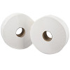 2Work White 76mm Core 2-Ply Jumbo Roll 92mmx410m (Pack of 6) J27400VW