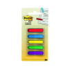 600 x Post-it Index Tabs 25mm Red (Includes Post-It index dispenser) 680-1