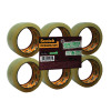 Scotch Clear Recycled Packaging Tape 50mmx66m (Pack of 6) GC5066F6-TSP-EU