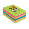 Post-it Super Sticky Notes XXL Rainbow 101 x 152mm 90 Sheets (Pack of 6) 4690-SSUC-P4+2