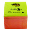 Post-it Z-Notes 76x76mm Neon Pink and Yellow (Pack of 6) R330N