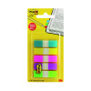 3M Post-it Portable Small Index 12mm Assorted (Pack of 5x20) 683-5CBINDEX