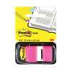 600 x Post-it Index Tabs 25mm Blue (Size: 25mm comes with dispenser) 680-2