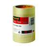 Scotch Clear 25mm x 66m Easy Tear Tape Pack of 6 ET2566T6