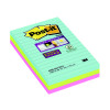 Post-it Super Sticky Lined Notes Miami XXL 101x152mm 4690-SS3-MIA