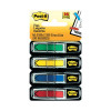 Post-it Portable Small Index 12mm Assorted (Pack of 100) 683-5CBINDEX