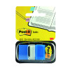 Post-it Blue Index Tabs 25mm (Pack of 12x50) 680-2