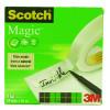 Scotch Magic Tape 19mm x 66m 3 For 2 3M810100