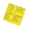 Post-it Super Sticky Yellow Big Notes 279 x 279mm (Pack of 30) BN11-EU