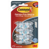 3M Command Clear Cord Clips With Clear Strips Small 17302CLR