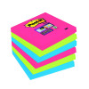 Q-Connect Repositionable 38 x 51mm Neon Quick Notes (Pack of 3) KF01224