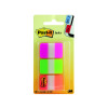 Post-it Strong Index Full Colour Pink/Green/Orange (Pack of 66) 686-PGO