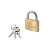 Master Lock Magnum Padlock 50mm Solid Brass with Keys 40044