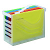 Jalema Silky Touch Office Box With 5 Files Clear A65802600