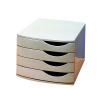 Jalema 4 Drawer Desktop Set Grey A6862-541