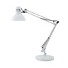 Alba White Architect Desk Lamp