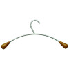 Alba Wood and Metal Coat Hangers (Pack of 6) PMCIN6