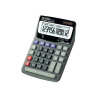 Aurora Grey/Black 12-Digit Desk Calculator (Dual power, solar powered with battery back up) DT85V
