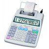 Aurora White 12-Digit Printing Calculator PR720