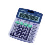 Aurora Silver/Grey 12-Digit Semi-Desk Calculator DT398