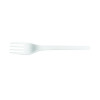 Biodegradable and Compostable CPLA Cutlery Fork (Pack of 50) NHLCPLAF1000