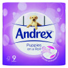 Andrex Pups White Bathroom Tissue (Pack of 9) 4978748