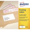 Avery 194x39mm White Franking Label FL06