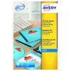 Avery Glossy Colour Full Face CD/DVD Laser Labels 2 Per Sheet (Pack of 25) L7760-25