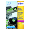 Avery White Heavy Duty Laser Labels (Pack of 20) L4775-20