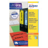Avery Lever Arch Filing Labels Inkjet 200mm x 60mm (Pack of 100) J8171-25