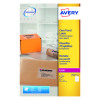 Avery Clear Laser Label A4 1 Per Sheet Pack of 25 L7567-25
