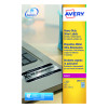 Avery Laser Label Heavy Duty Silver 27x20 Sheets L6011-20 (Pack of 540)