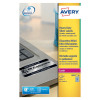 Avery Laser Label Heavy Duty Silver 10x20 Sheets (Pack of 200) L6012-20
