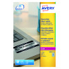 Avery Laser Label Heavy Duty Silver 10x20 Sheets L6012-20 (Pack of 200)