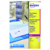 Avery Laser Labels 63.5x38.1 Clear (Pack of 25) L7560-25