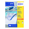 Avery Multipurpose White Labels 21 Per Sheet (Pack of 2100) 3652