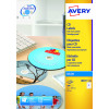 Avery Full Face Inkjet White CD Labels 2 Per Sheet (Pack of 50) J8676-25
