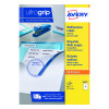 Avery Multipurpose White Labels 8 Per Sheet (Pack of 800) 3427