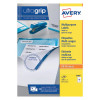 Avery Multipurpose White Labels 16 Per Sheet 105 x 37mm (Pack of 1600) 3484