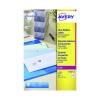 Avery Laser Labels 99.1x38.1 Clear (Pack of 25) L7563S