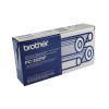 Brother Thermal Transfer Ribbon Refill Black (Pack of 4) PC204RF