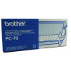 Brother Thermal Fax Ribbon Refill Page Life 144pp Black Ref PC72RF [Pack 2]