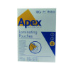 Apex A4 Medium Duty Laminating Pouches 250 Micron Clear (Pack of 100) 6003501