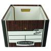 Fellowes Bankers Box Premium Storage Box Woodgrain Pack of 12 Buy 2 Get FOC Iderama Binders BB810561