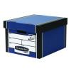 Fellowes Bankers Box Premium Storage Box Blue (Pack of 12) Buy 2 Get FOC Iderama Binders BB810562