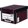 Fellowes Bankers Box Tall Storage Box Woodgrain (Pack of 12) Buy 2 Get FOC Iderama Binders BB810563