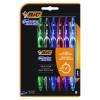 Bic Gel-ocity Quick Dry Gel Pen Assorted (Pack of 6) 964769