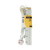Belkin White E-Series SurgeStrip Surge Protector 6-Socket 3m F9E600UK3M