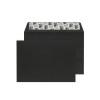C6 Wallet Envelope Peel and Seal 120gsm Jet Black (Pack of 250) BLK93032
