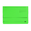 Elba Bright Manilla Foolscap Green Document Wallet 290gsm 100090268